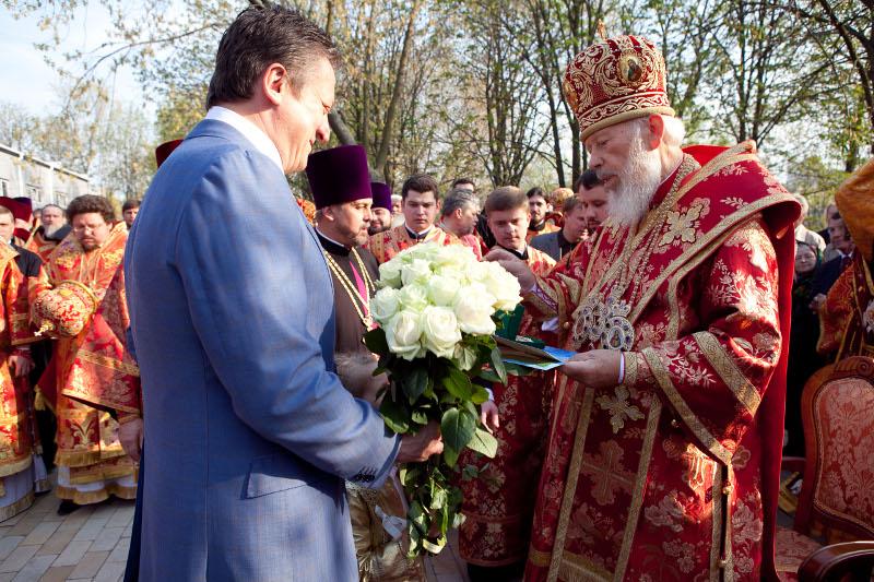 Орден свт. Феодосія Чернігівського - ктитору храма