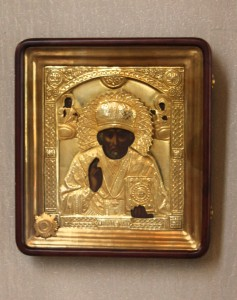 Ікона св. Миколая з часткою мощів