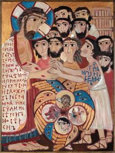 Явлення Господа Фомі. Картина Олени Черкасової