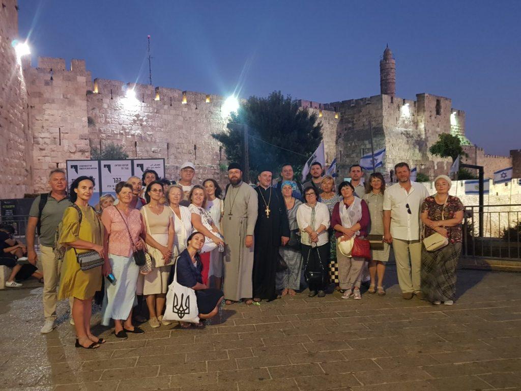 Група паломників Переяславсько-Вишневської єпархії відвідала святі місця Ізраїлю та Йорданії